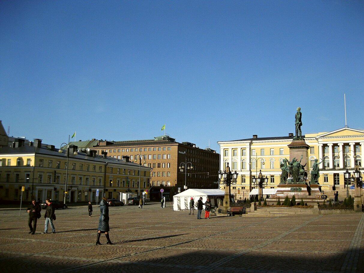 Хельсинки Сенатская площадь